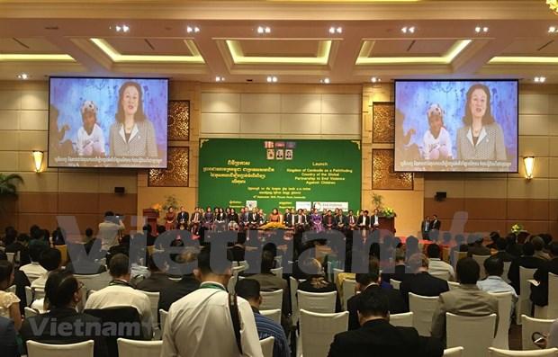 Aumenta Camboya esfuerzos para poner fin a la violencia contra los ninos hinh anh 1