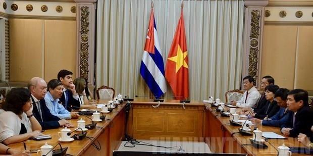 Ciudad Ho Chi Minh intensifica lazos de inversion con Cuba hinh anh 1