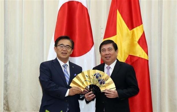 Prefectura japonesa de Aichi interesada en proyecto de carretera en Ciudad Ho Chi Minh hinh anh 1