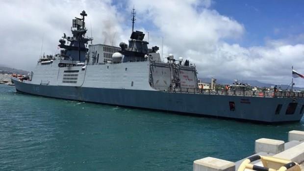 India y Malasia realizan ejercicio naval conjunto hinh anh 1