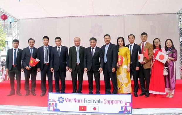 Impulsan cooperacion entre localidades vietnamita y japonesa hinh anh 1
