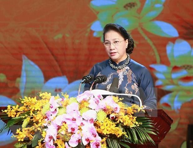 Honra Vietnam a expresidente del Parlamento a 130 anos de su natalicio hinh anh 1