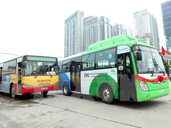 Proyecta Hanoi impulsar el uso del transporte publico hinh anh 1