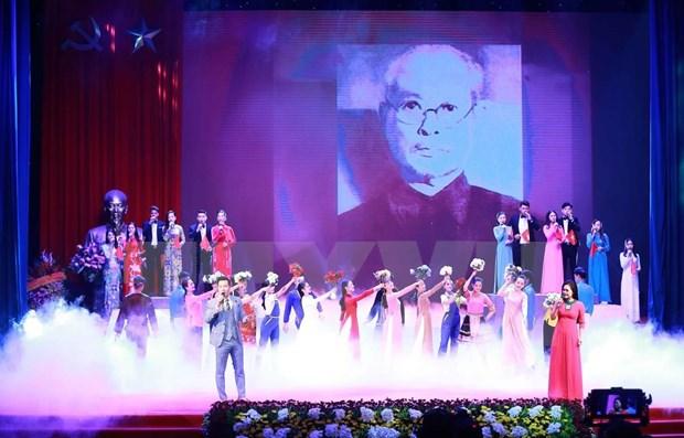 Honra Vietnam a expresidente del Parlamento a 130 anos de su natalicio hinh anh 2