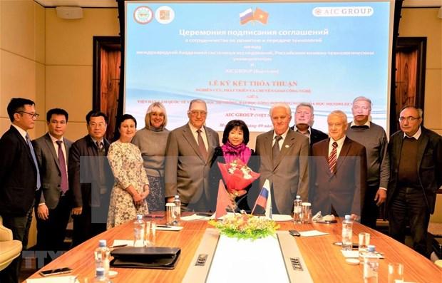 Intensifican cooperacion Vietnam y Rusia en transferencia de tecnologia hinh anh 1