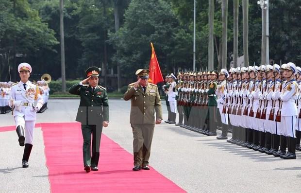 Elaboraran Vietnam y Cuba resumen de historia de cooperacion en defensa hinh anh 1