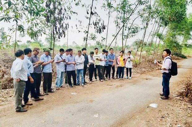 Ayuda Estados Unidos a provincia vietnamita en manejo forestal hinh anh 1
