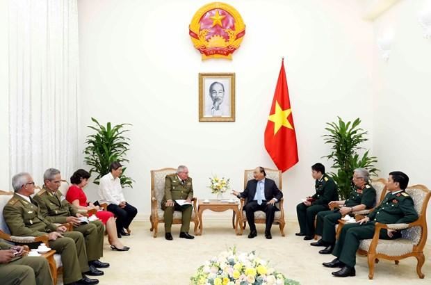 Vietnam mantiene maximo apoyo a Cuba, afirma premier Xuan Phuc hinh anh 1