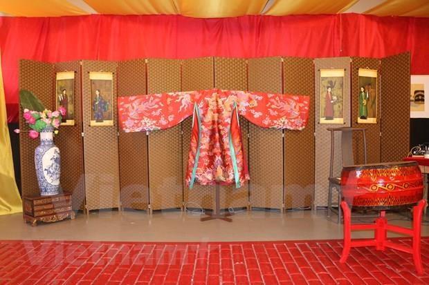 Presentan en Sidney obras inspiradas en la cultura de Vietnam bajo la dinastia Nguyen hinh anh 1
