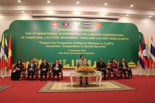 Conferencia ministerial de Trabajo de paises del sudeste de Asia en Camboya hinh anh 1
