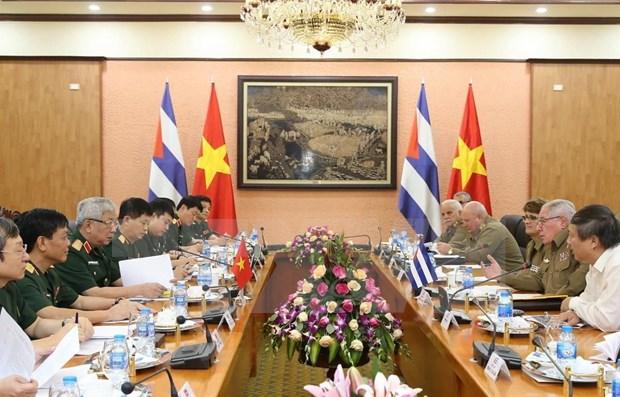 Efectuan Vietnam y Cuba tercer Dialogo sobre Politicas de Defensa hinh anh 1