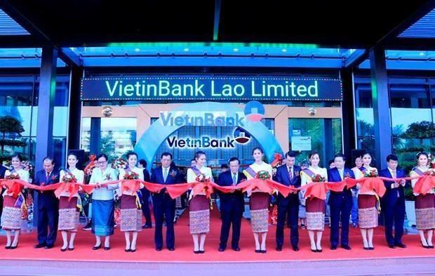 Banco vietnamita VietinBank inaugura oficina principal en Laos hinh anh 1