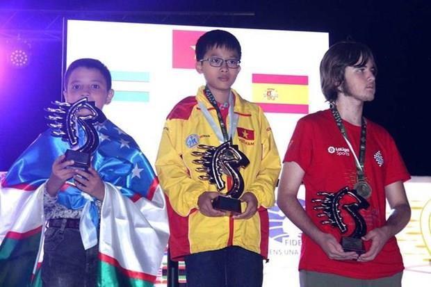 Vietnam lidera el medallero en Campeonato Mundial de Ajedrez Rapido hinh anh 1