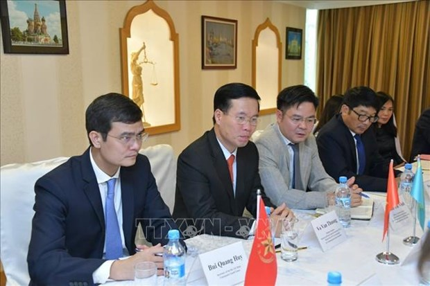 Destacan nexos de amistad tradicional entre Vietnam y Kazajstan hinh anh 1