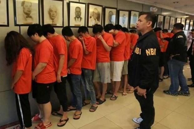 Capturan en Filipinas a mas de 300 delincuentes ciberneticos chinos hinh anh 1