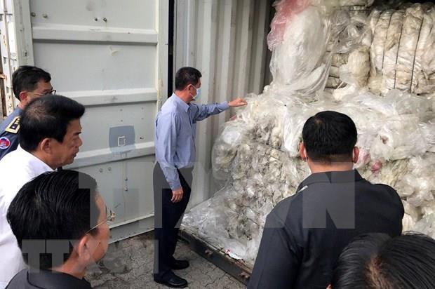 Camboya reenvia desechos plasticos a Estados Unidos y Canada hinh anh 1