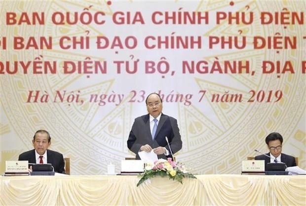 Perfeccionan estructura del Comite Nacional sobre Gobierno electronico de Vietnam hinh anh 1