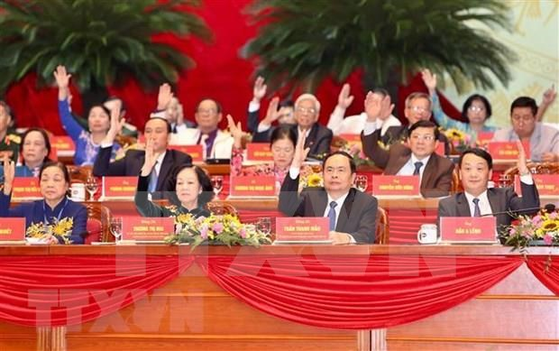Congreso nacional del Frente de la Patria de Vietnam inicia su primera sesion hinh anh 1