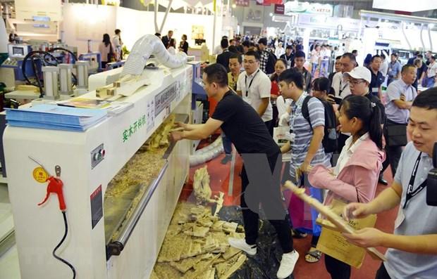 Inauguran en Vietnam exposiciones internacionales sobre la industria maderera hinh anh 1