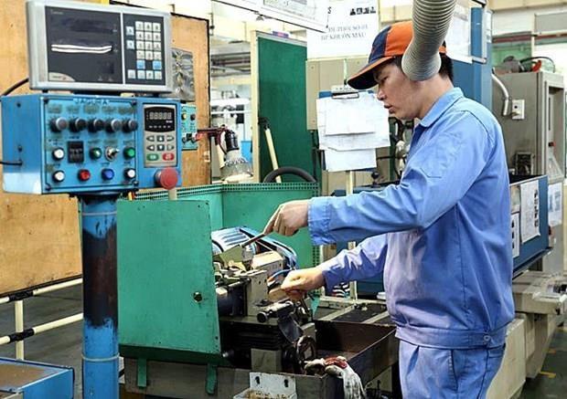 Sube indice de produccion industrial de provincia vietnamita de Vinh Phuc hinh anh 1