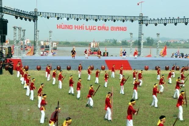 Concluyen festival otonal Con Son- Kiep Bac en provincia vietnamita de Hai Duong hinh anh 1