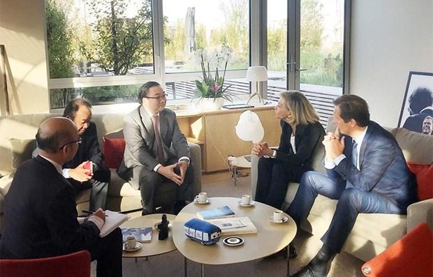 Hanoi aspira a una cooperacion a largo plazo con la region de isla de Francia hinh anh 1