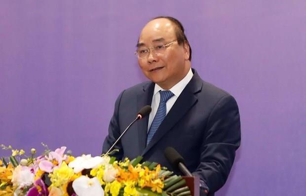 Premier vietnamita aboga por el desarrollo vigoroso de la economia nacional hinh anh 1