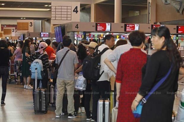 Alerta Tailandia sobre congestion del trafico aereo en el Aeropuerto de Bangkok hinh anh 1