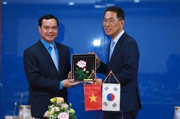 Reafirman Vietnam y Corea del Sur cooperacion en proteccion de trabajadores hinh anh 1