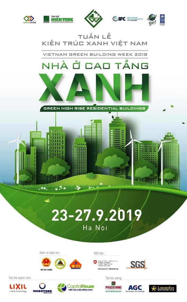 Anuncian semana de Arquitectura verde de Vietnam hinh anh 1
