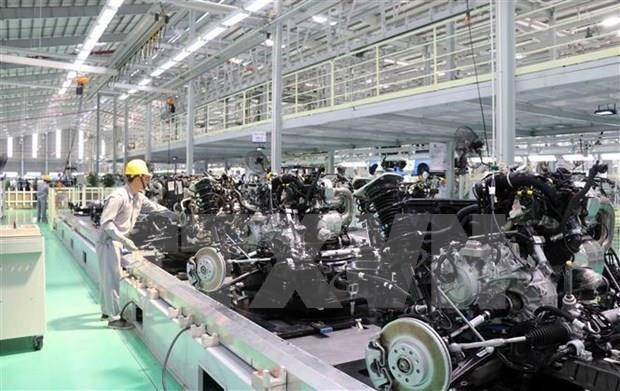 Inauguran en provincia vietnamita fabrica sudcoreana de componentes automovilisticos hinh anh 1