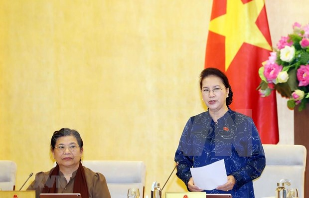 Concluye Comite Permanente del Parlamento de Vietnam su sesion 37 hinh anh 1