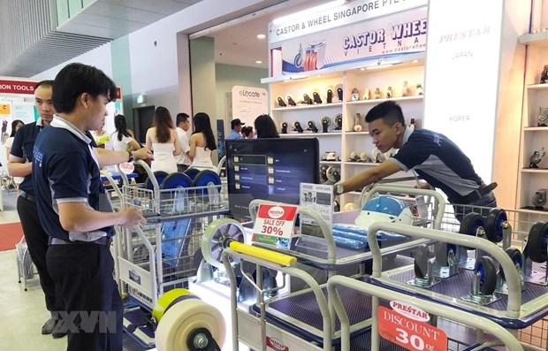 Celebraran en Hanoi exposicion internacional de maquinarias hinh anh 1
