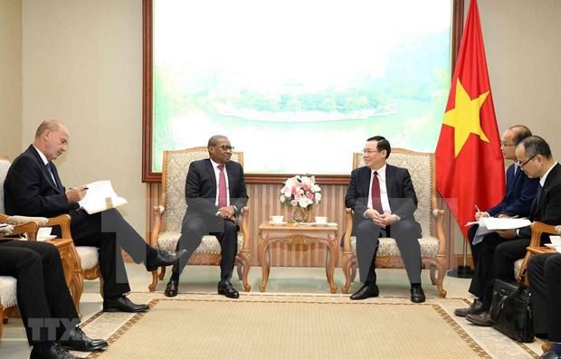 Vietnam se propone intensificar lazos multisectoriales con Sudafrica y Nigeria hinh anh 1
