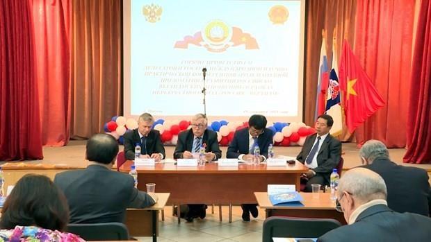 Destacan desempeno de diplomacia popular en el desarrollo de las relaciones entre Vietnam y Rusia hinh anh 1