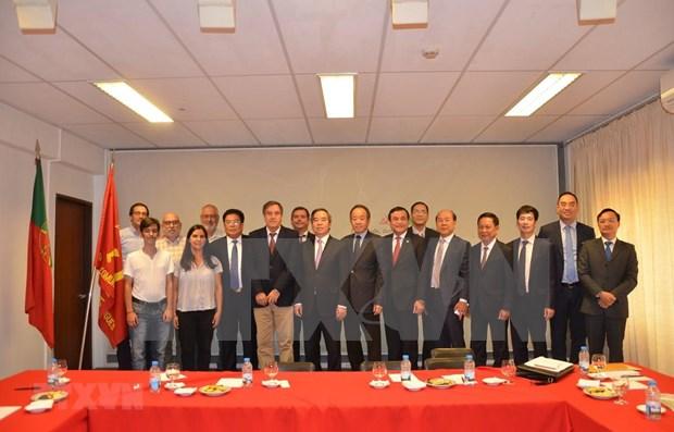 Propone Vietnam apoyo de Portugal a TLC con UE hinh anh 1