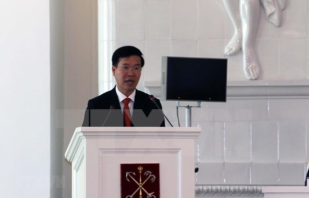 Resaltan en Rusia valores del Testamento de Ho Chi Minh hinh anh 1