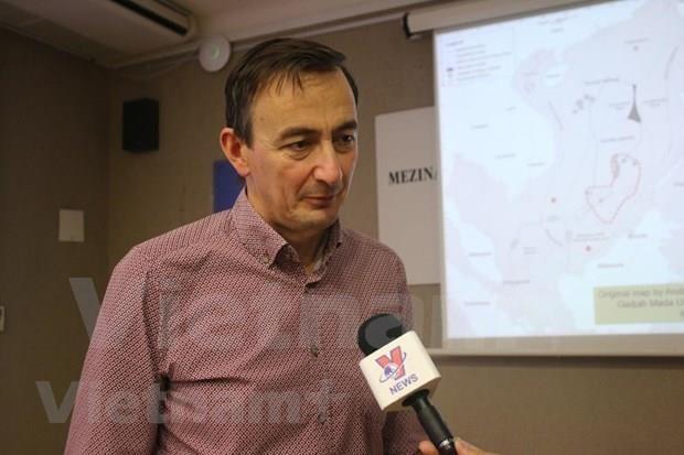 Efectuan en Praga seminario sobre disputas en el Mar del Este hinh anh 1