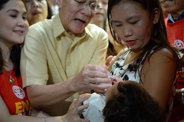 Inicia Filipinas campana de vacunacion contra poliomielitis hinh anh 1