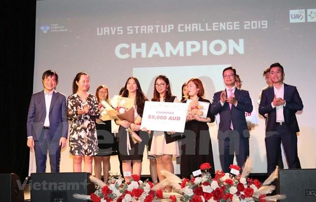Celebran concurso de startup para estudiantes vietnamitas en Australia hinh anh 1
