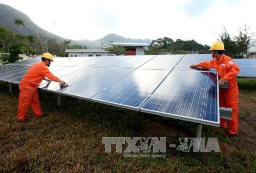Planean en Vietnam promover el desarrollo de energia renovable hinh anh 1