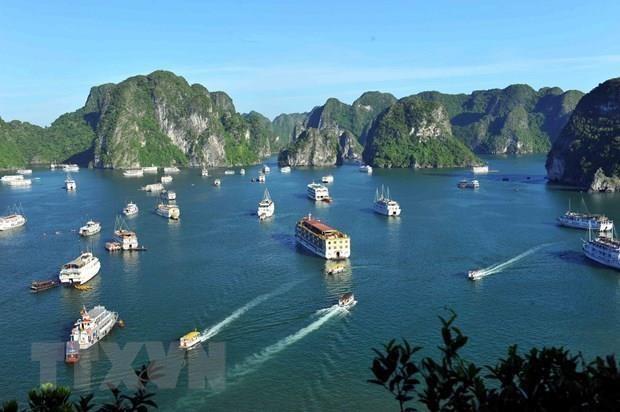 Reconocen a la Bahia vietnamita de Ha Long entre las atracciones mas populares de Asia hinh anh 1