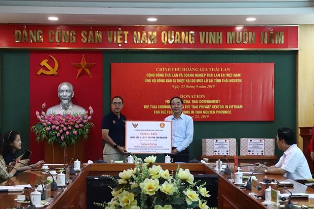 Apoya Tailandia a poblacion de provincia vietnamita afectada por inundaciones hinh anh 1