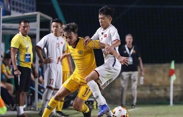 Australia vence a Vietnam en eliminatoria del Campeonato Asiatico de Futbol Sub-16 hinh anh 1