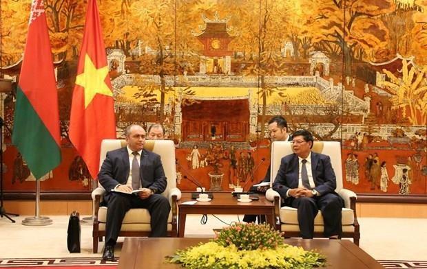 Aspira Belarus a cooperar con Vietnam en la industria automovilistica hinh anh 1