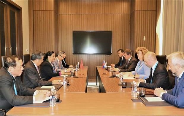 Refuerza Vietnam cooperacion parlamentaria con naciones asiaticas y europeas hinh anh 1