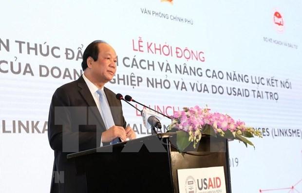 Apoya Estados Unidos a las PYMES en Vietnam a mejorar su capacidad conectiva hinh anh 1