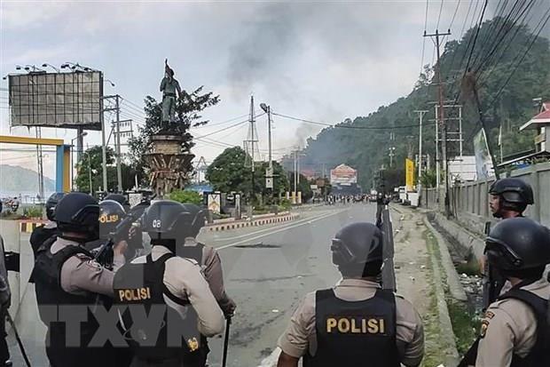 Reportan decenas de muertos en Indonesia tras incidentes violentos hinh anh 1