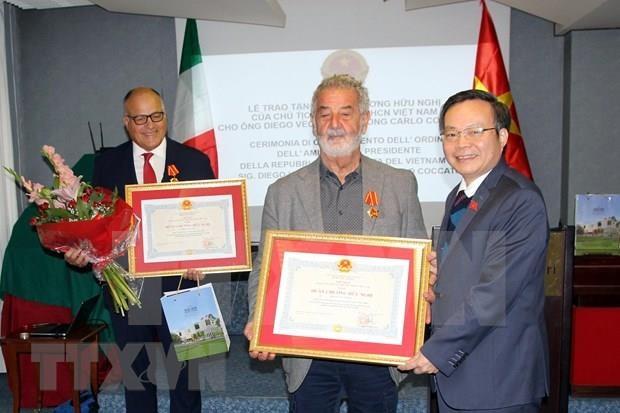Fomentan cooperacion Vietnam e Italia hinh anh 1