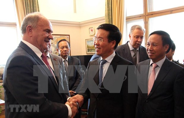 Profundizan colaboracion los partidos de Vietnam y Rusia hinh anh 1